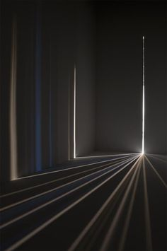 "staceythinx: "" Chris Fraser creates dazzling light installations by turning a dark enclosed room into variation on a camera obscura. A precursor to the camera, the camera obscura is ""a box or room. Camera Obscura, Design Set, Modern Design, Design Ideas, Light Luz, Instalation Art, Light And Space, Chiaroscuro, Op Art"