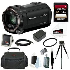 Panasonic HC-V770 HD Camcorder with Wireless Smartphone Twin Video Capture with 64GB SD Card, 49mm Tifffen UV Filter, Deluxe SLR Case and Accessory Bundle review - http://www.bestseller.ws/blog/camera-and-photo/panasonic-hc-v770-hd-camcorder-with-wireless-smartphone-twin-video-capture-with-64gb-sd-card-49mm-tifffen-uv-filter-deluxe-slr-case-and-accessory-bundle-review/