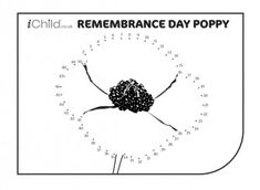 This Remembrance Day dot to dot printable activity is perfect for your child to celebrate this day. After the dots have been joined, the picture can be coloured in too! Remembrance Day Pictures, Remembrance Day Activities, Remembrance Day Poppy, Armistice Day, Brownie Ideas, Anzac Day, Connect The Dots, Girl Guides, Teacher Hacks