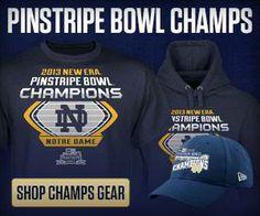 Pinstripe Bowl Champs