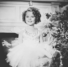 Shirley Temple, Christmas 1935.