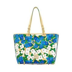 DOONEY & BOURKE Floral Coated Cotton Leisure Tote Bag  SPECIAL PRICE: $148.50 via savoirmode.com  #savoirmode #floral #tote #handbags #bags #carryeverything #beachday #beach #summer #summerstyle
