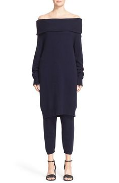 Free shipping and returns on T by Alexander Wang Wool & Cashmere Off the…