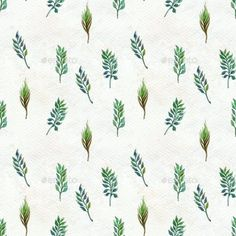 Buy Seamless Pattern With Leaves by on GraphicRiver. Seamless watercolor pattern with leaves. Wrapping Or Digital Paper. 3d Landscape, Stencil Templates, Watercolor Pattern, Decoration, Hand Painted, Graphic Design, Vector Illustrations, Abstract, Wallpaper
