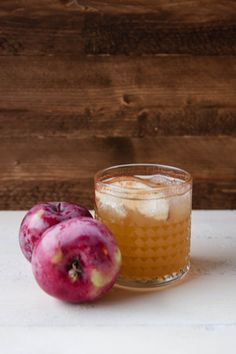 Spiced Apple Rum Cocktail