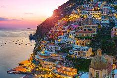 Jeweled Coast Positano Amalfi Coast Italy by TheWorldExplored