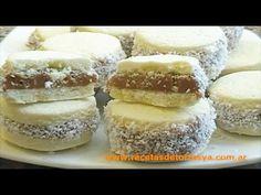 ▶ Alfajores de Maicena - Recetas de Tortas YA! - YouTube