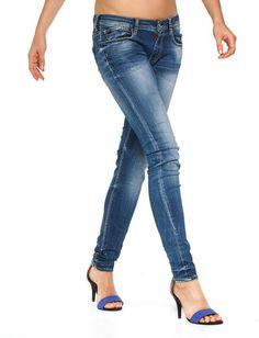 Le Temps Des Cerises | farkut, kulutettu sininen | Putiikki Rannalla Skinny Jeans, Pants, Fashion, Trouser Pants, Moda, Fashion Styles, Women Pants, Fasion, Trousers Women