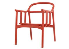 Bone red chair by Soyoon Choi - Retro Vibe Style Guide by Duckprint