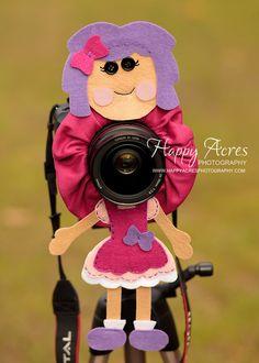 Lens Bling  Fuchsia Lalaloopsy by HappyAcresFarm on Etsy, $24.00