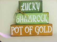 St. Patrick's decor
