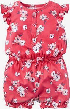 Carter's Baby Girls 1 Pc 118h109, Red, 6 Months Baby BUY NOW $15.99 Carter's Floral Fashion Romper – Red Carters is the leading brand of children's clothing, gifts and accessories in America, se .. http://www.joysforkids.top/2017/03/18/carters-baby-girls-1-pc-118h109-red-6-months-baby/
