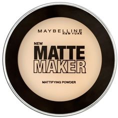 Maybelline Matte Maker Mattifying Powder ($4.23) ❤ liked on Polyvore featuring beauty products, makeup, face makeup, face powder, beauty, cosmetics, fillers, natural beige, maybelline and maybelline face powder