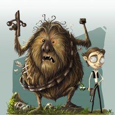 If Tim Burton Made Star Wars - Neatorama