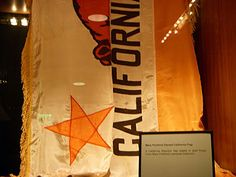 Mary Pickford's California Bear Flag at the Beverly Hilton Hotel from Flickr | Bear Flag Museum   http://bearflagmuseum.blogspot.com/2013/06/mary-pickfordss-california-bear-flag-at.html