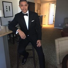 SA-born comedian and 'The Daily Show' host Trevor Noah took to social media to share a video of a new docu-series 'Breaking B. Media To Share, Trevor Noah, The Daily Show, Dapper Men, Men Formal, Boy Meets, Celebs, Celebrities, Good Looking Men