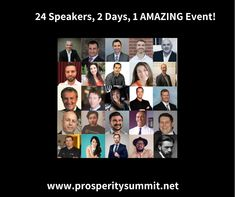 Make sure you join us for this 2 day event! 24 of the best minds in Chiroprac-TIC will blow you away with their BEST PRACTICES!