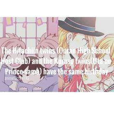 Uta no Prince-sama and Ouran High School Host Club