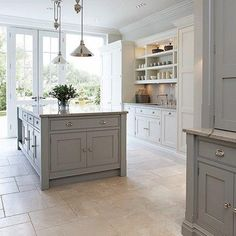 Charming 100 Kitchen Design Ideas Pictures Of Country Decorating Modern Decor modern country kitchen decor. Enthralling How To Blend Modern And Country Styles Within Your Home S Decor Of Kitchen. Modern Shaker Kitchen, Shaker Style Kitchens, Home Kitchens, Country Kitchens, Style Shaker, Country Kitchen Flooring, Kitchen Living, New Kitchen, Kitchen Decor