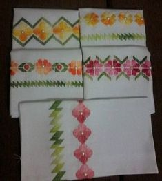 Artesanía, Manualidades, Labores - Bordado Punto Reto Embroidery Stitches Tutorial, Embroidery Patterns, Cross Stitch Patterns, Swedish Weaving, Hardanger Embroidery, Wicker, Diy And Crafts, Textiles, Quilts