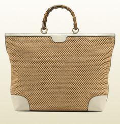 d05556a89a73 Bamboo Shopper Straw Tote Tan Tote Bag