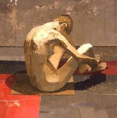 Euan Uglow, British, 1932 - 2000 Figurative painting/ School of London Figure Painting, Painting & Drawing, Art Uk, Art Graphique, Poses, Contemporary Paintings, Figurative Art, Oeuvre D'art, Painting Inspiration
