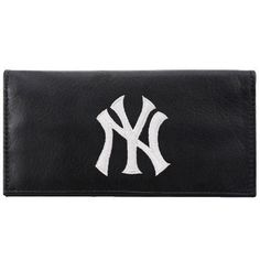 MLB New York Yankees Embroidered Checkbook by Rico. $25.00. A team logo checkbook makes a perfect gift for that big fan in your life, or a nice treat for yourself. Quality construction will last.