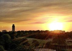 Sunrise on KU #Jayhawk #Kansas