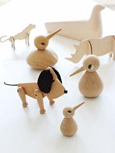 Architectmade: chien Oscar (Hans Bølling ) et Birds de l'architecte Kristian Vedel