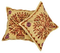 Tree of life Cushion Cover Patchwork Pillow Case Sofa Throw Handmade Art 1052 #Handmade