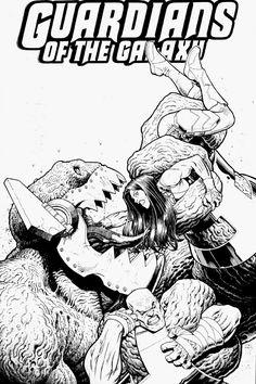 Guardians of the Galaxy by Arthur Adams