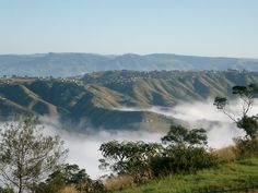 The Valley of a Thousand Hills near Durban, KwaZulu-Natal Province.