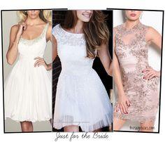 White Bachelorette Party Dresses