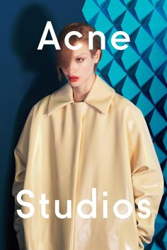 see exclusive images from the new acne studios campaign, shot by david sims…