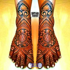 Portfolio of Ravi Mehandi Wala Arabic Bridal Mehndi Designs, Wedding Henna Designs, Indian Henna Designs, Engagement Mehndi Designs, Mehndi Designs Feet, Stylish Mehndi Designs, Mehndi Designs 2018, Mehndi Design Pictures, Dulhan Mehndi Designs