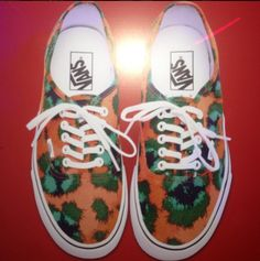 Preview the Kenzo x Vans SS13 Low Tops, Courtesy of Michael Dupouy