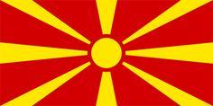 Flag of Republic of Macedonia