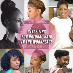 office natural hair | Style Tips For Natural Hair In The Workplace