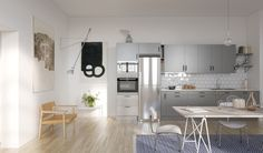 Retro industrial kitchens in new project by Riksbyggen - emmas designblogg