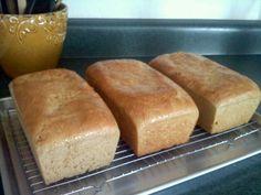 Honey Whole Wheat Bread {just like grandma used to make!}