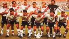 Apertura 1999 - River Plate. #Astrada #Saviola #Aimar #Placente #Bonano #Sorin los colombianos  angel y yepes