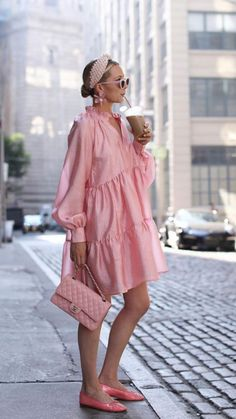 Pink Fashion, Fashion Outfits, Womens Fashion, Look Rose, Modelos Fashion, Summer Outfits, Summer Dresses, Mode Chic, Classy Outfits