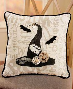 "NEW!~Mud Pie~88/"" Halloween Burlap Chalkboard Ruffle Witch Hat Table Runner~/""BOO/"""