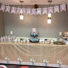 Ashleigh Nicole added a photo of their purchase Baby Shower Decorations Neutral, Gender Neutral Baby Shower, Baby Boy Shower, Burlap Baby Showers, Welcome Baby Banner, Wishes For Baby Cards, Baby Banners, Rustic Baby, Woodland Baby