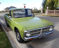 1974 Ford Courier This was my first truck, same color and all.
