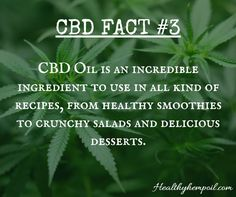 CBD FUN FACT! Learn more by clicking the link! https://healthyhempoil.com/facts-cannabidiol-cbd/?utm_content=bufferbb716&utm_medium=social&utm_source=pinterest.com&utm_campaign=buffer