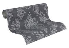 Mustertapete A.S. Création Vliestapete Elegance 2 Grau
