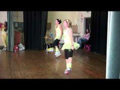 Okay...I could help myself.  This made me smile: zumba style  jig/ irish  dance