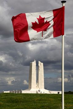 .~Vimy Ridge Memorial, France.  A stunning and moving memorial to a significant Canadian military victory~.