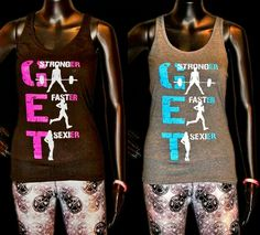 "New women's ""Get-ER"" racerback tanks now available.  extremerush.com   Go Extreme. Feel the Rush."